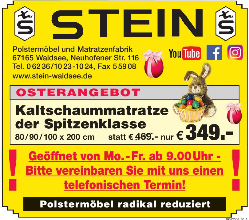 Polstermöbel & Matratzenfabrik Stein GmbH