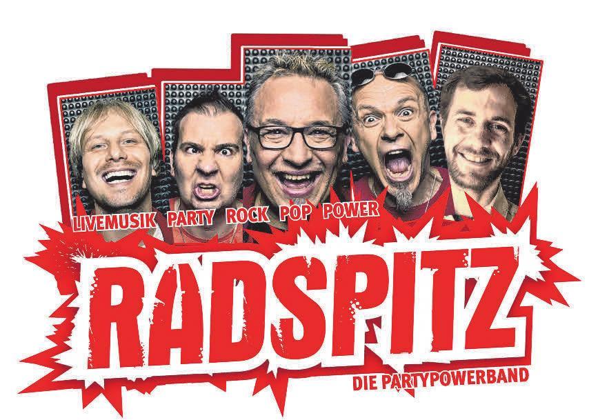 Der Party-Marathon des Heuberg-Wanderpokalturniers 2019 in Mahlstetten startet mit der Party- & Rocknacht und Radspitz. In Mahlstetten spielt Radspitz am Freitag, 7. Juni, ab 21 Uhr. Tickets nur an der Abendkasse.