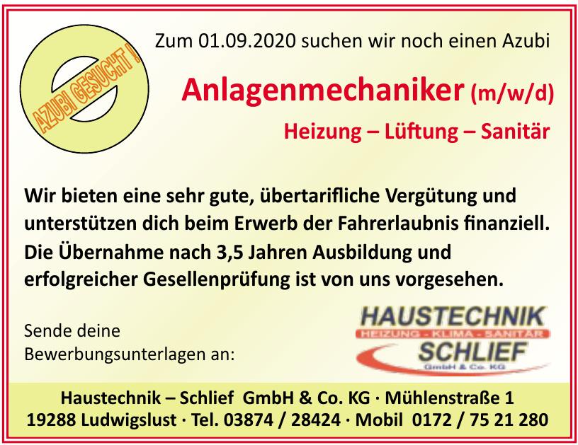 Haustechnik – Schlief GmbH & Co. KG
