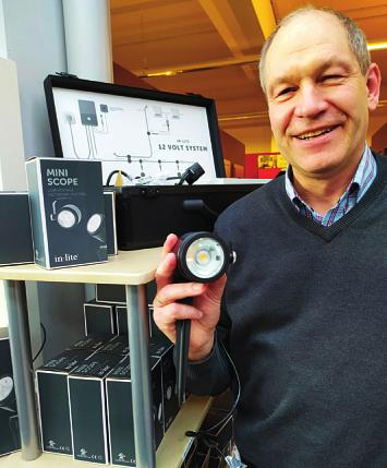 """Im Beckmann Bauzentrum gibt es auch eine energiesparende 12-Volt-Gartenbeleuchtung der Firma """"in-lite"""""""