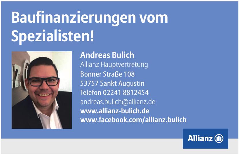 Andreas Bulich - Allianz Hauptvertretung