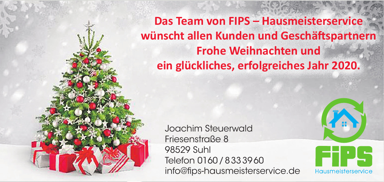 FiPS Hausmeisterservice Joachim Steuerwald