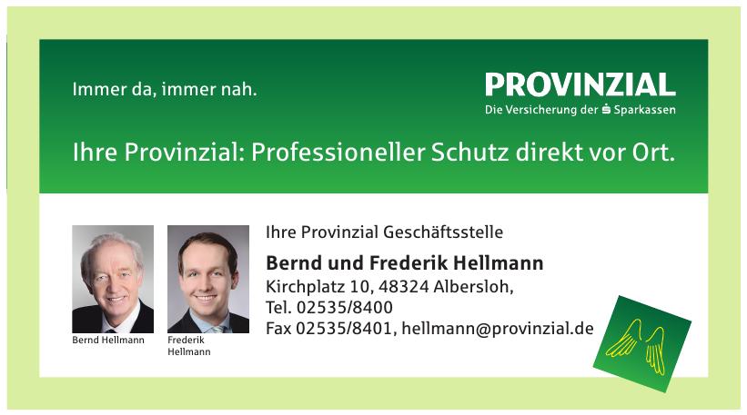 Bernd und Frederik Hellmann