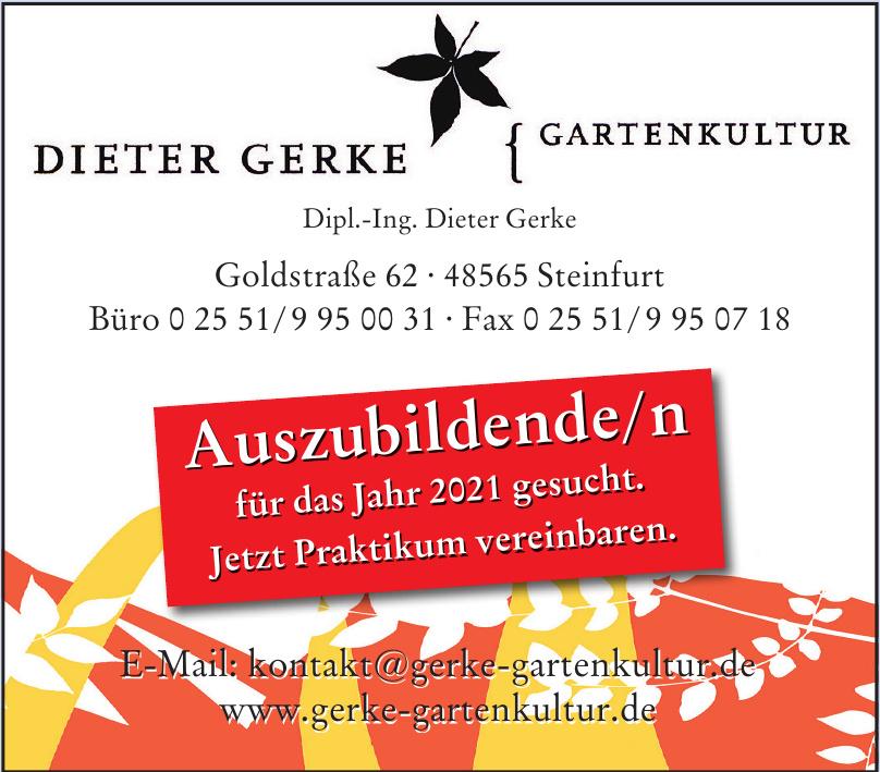 Dipl.-Ing. Dieter Gerke Gartenkultur