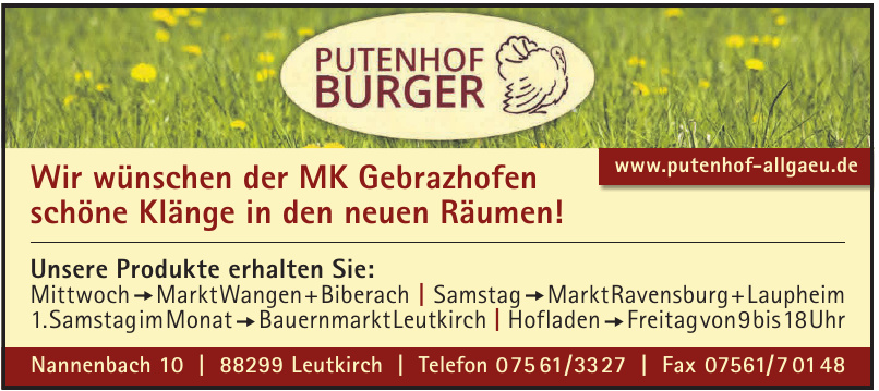 Putenhof Burger