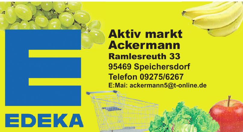 Edeka Aktiv markt Ackermann