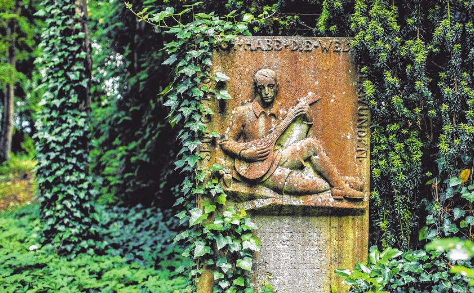 Alter Friedhof, Juni 2018, Foto von Wally Pruß.