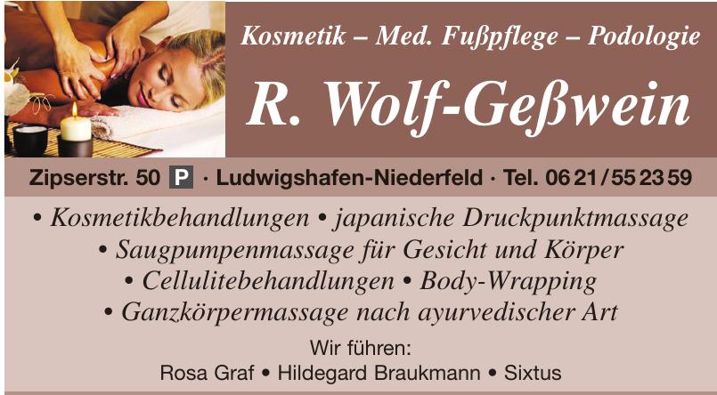 R. Wolf-Geßwein