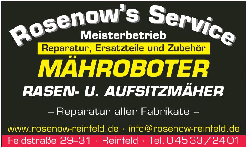 Rosenow's Service