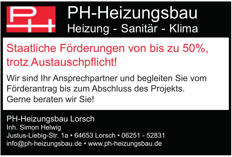 PH-Heizungsbau Lorsch