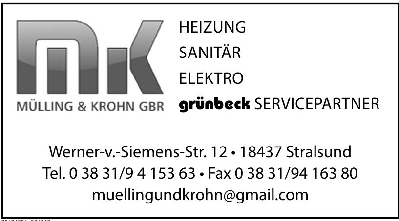 Mülling & Krohn GbR