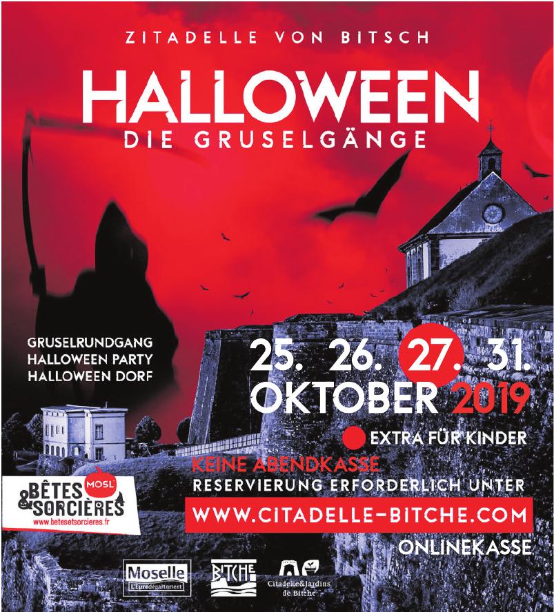 Zitadelle von Bitch - Halloween die Gruselgänge