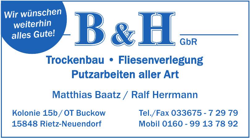 B & H GbR