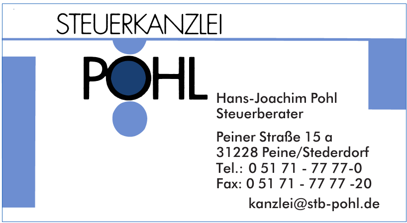 Hans-Joachim Pohl Steuerberater