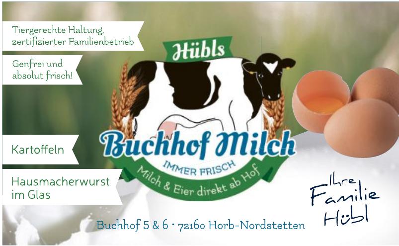 Hübls Buchhof Milch