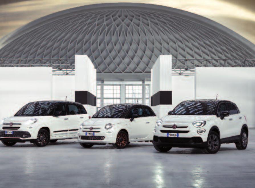 """Die """"120th""""-Fiat-Sondermodelle 500, 500X und 500L.Foto: obs/FIAT/FCA Group"""