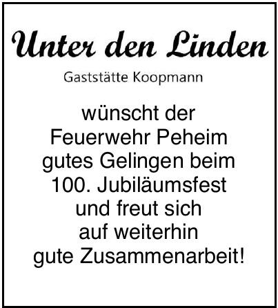 Gaststätte Unter den Linden