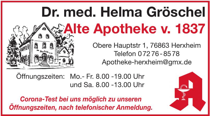 Alte Apotheke v. 1837