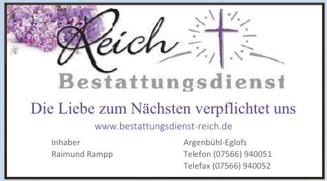 Reich Bestattungsdienst