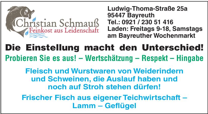 Christian Schmauß