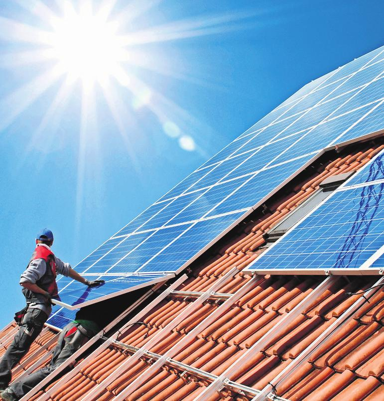 Das Ausbautempo in Sachen Solarenergie müsste nach Ansicht von Experten mindestens verdreifacht werden.Foto: djd/LichtBlick SE/fotolia/Simon Kraus/Simon Kraus