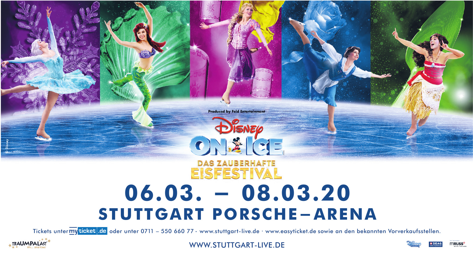 Disney on Ice: Das zauberhafte Eisfestival