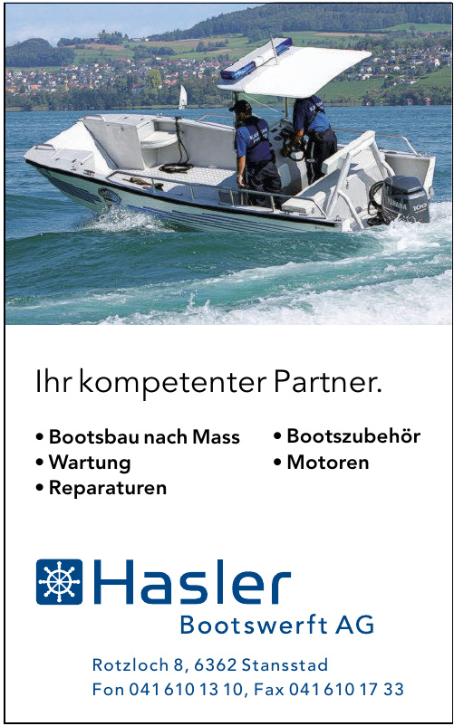 Hasler Bootswerft AG