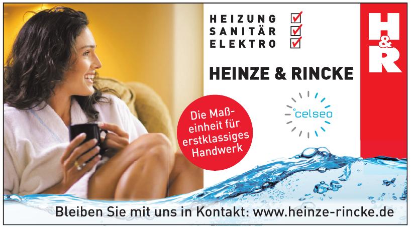 Heinze & Rincke - Heizung, Sanitär, Elektro