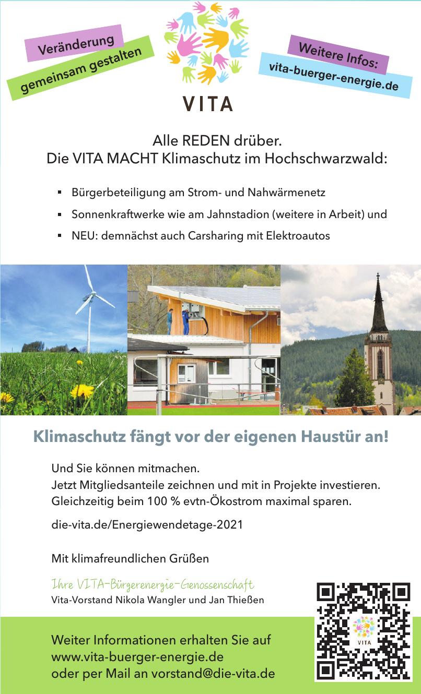 VITA Bürgerenergie