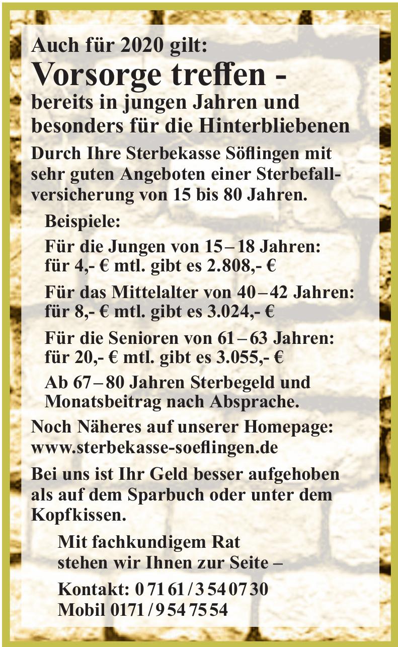 Sterbekasse-Söflingen