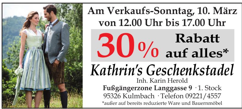 Kathrin's Geschenkstadel