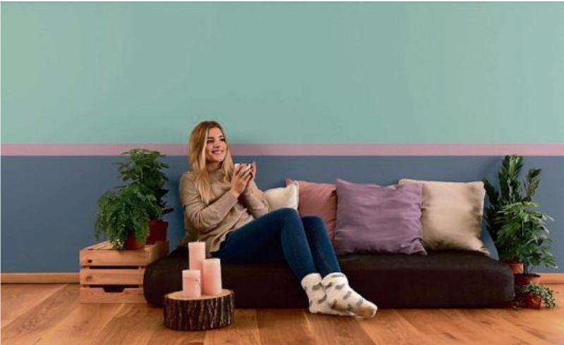 Natürlichkeit in Perfektion – Natur-Kalkfarben mit mineralischen Pigmenten schaffen ein ganz besonderes Ambiente. Bild: Auro/akz-o