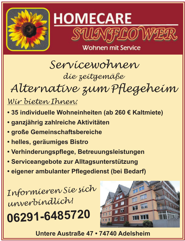 Homecare Sunflower