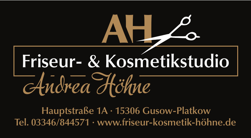 Friseur- & Kosmetikstudio Andrea Höhne