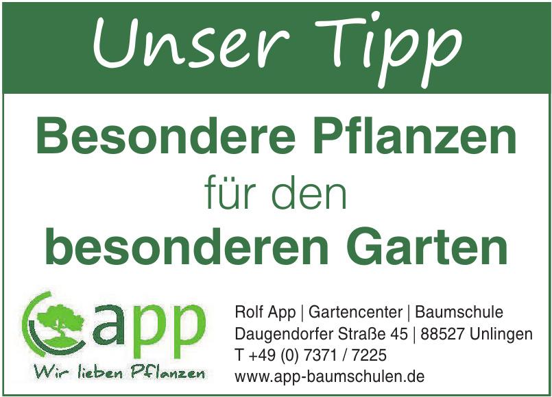 Rolf App Gartencenter