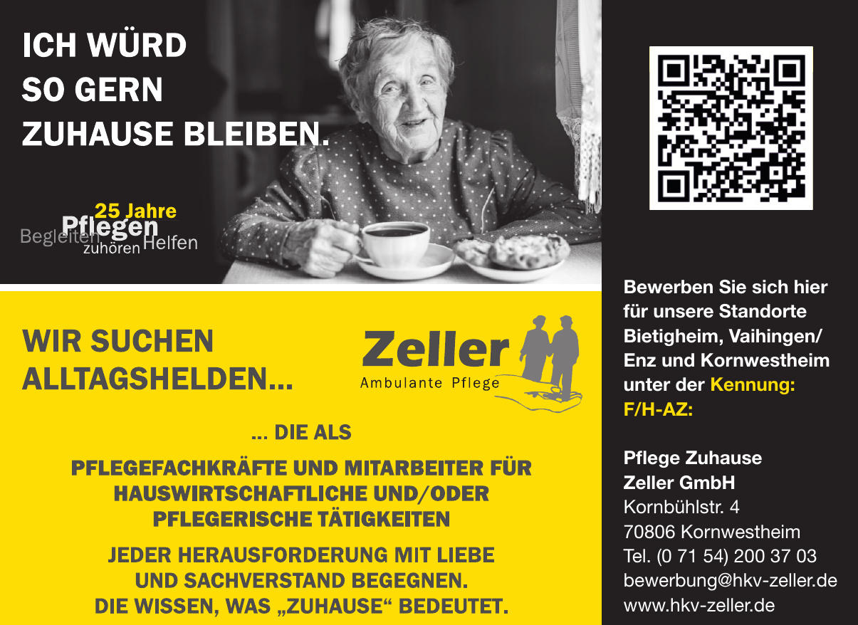Pflege Zuhause Zeller GmbH