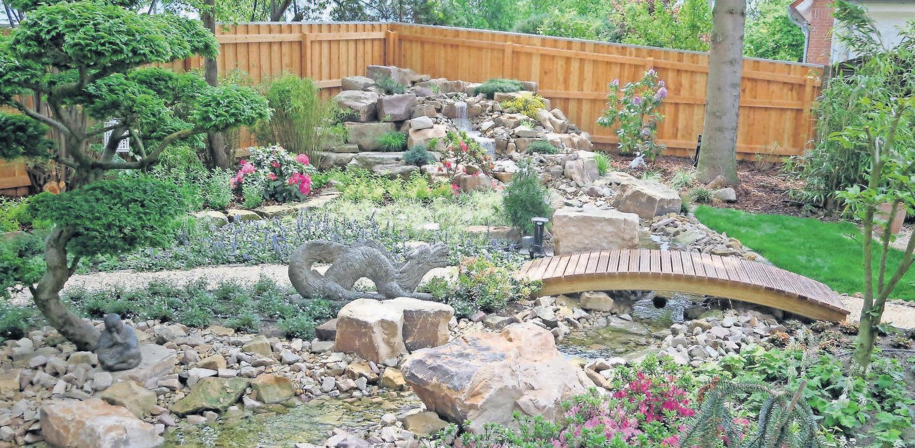 Die Gärtnerei Fischer macht Privatgärten schön.