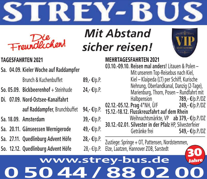 Strey-Bus Omnibus und Wegebahnunternehmen