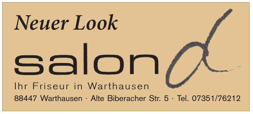 Friseurgeschäft Salon D. Inh. Dieter Teifke