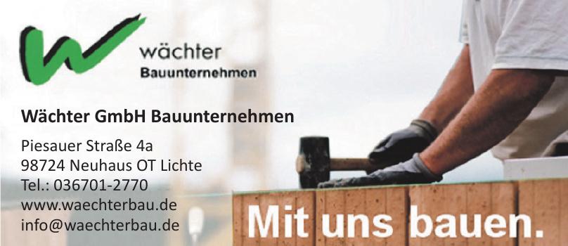 Wächter GmbH Bauunternehmen