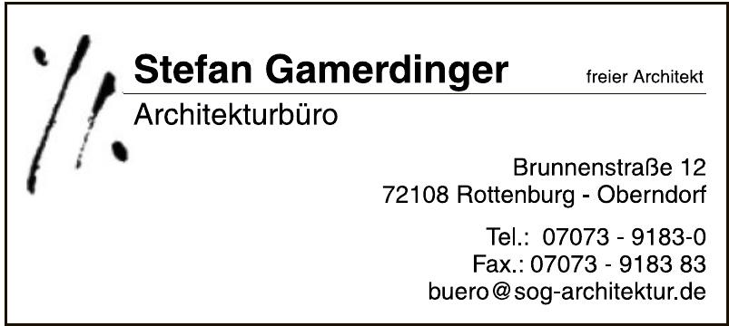 Stefan Gamerdinger