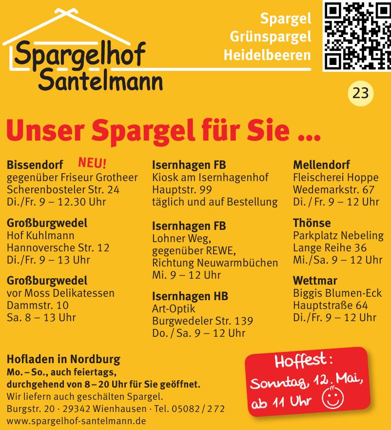 Spargelhof Santelmann