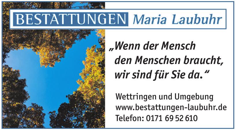 Bestattungen Maria Laubuhr