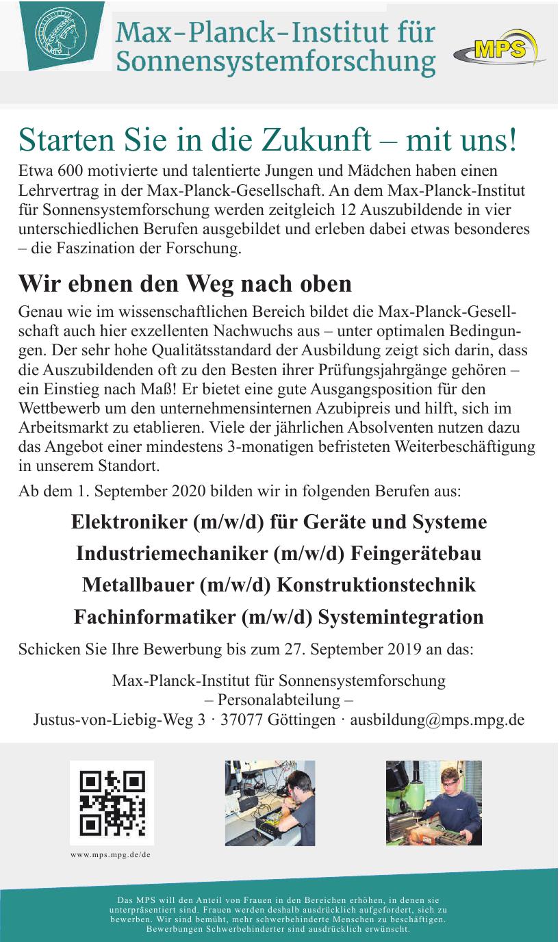 Max-Planck-Institut für Sonnensystemforschung