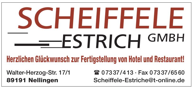 Scheiffele Estrich GmbH