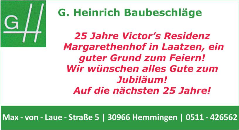 G. Heinrich Baubeschläge