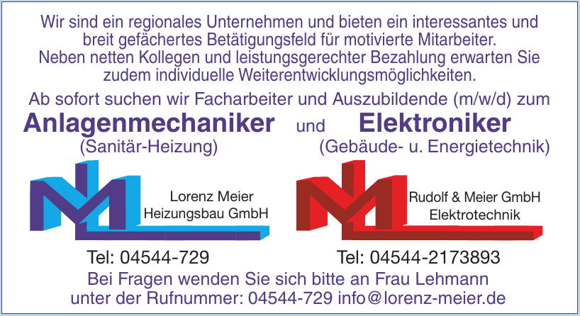Lorenz Meier Heizungsbau GmbH