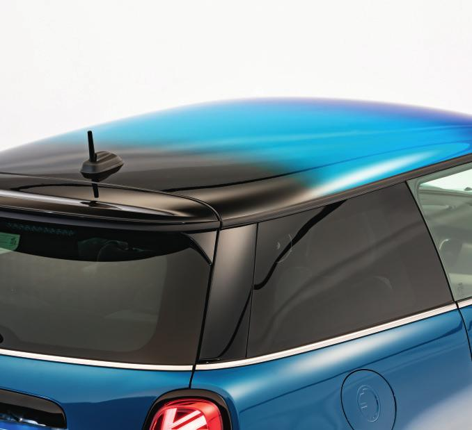 Dach mit neuem Farbverlauf