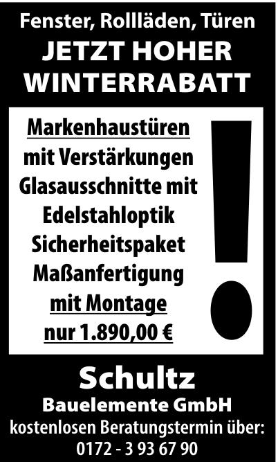 Schultz Bauelemente GmbH