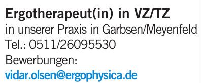 Praxis in Garbsen/Meyenfeld